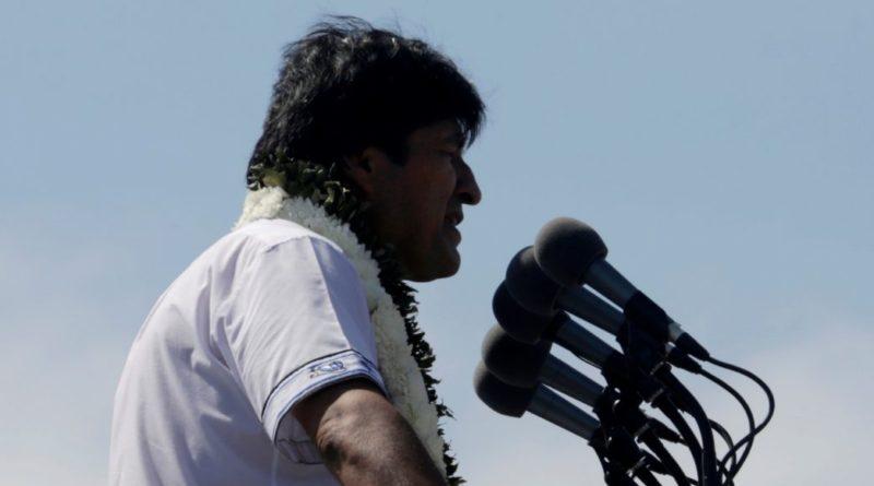Evo Morales inicia campaña para reelegirse por un cuarto mandato